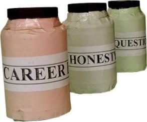 career honesty question box